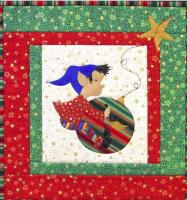 Elf Painting the Ornament Quilt Pattern CJC-4472