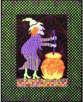 Crystal Witch Quilt Pattern CJC-4525