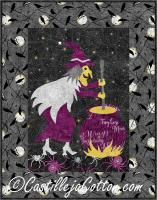 Crystal Witch Quilt Pattern CJC-452512