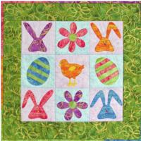 Easter 9-Patch Pattern CJC-4533