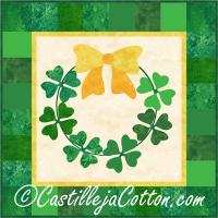 Good Luck Wreath Pattern CJC-46163
