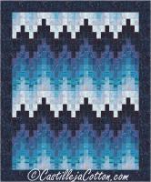 Bargello Breakers Quilt Pattern CJC-4629