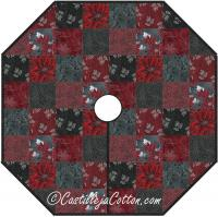 Christmas Traditions Tree Skirt Pattern CJC-4639