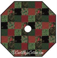 Christmas Traditions Tree Skirt Pattern CJC-46393