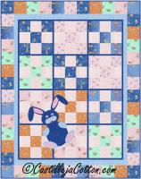 9-Patch Bunny Quilt Pattern CJC-46732