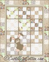 9-Patch Bunny Quilt Pattern CJC-46735