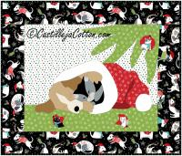 Christmas Mischief Wall Hanging Pattern CJC-46762