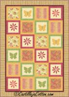 Enchanted Summer Quilt Pattern CJC-4683