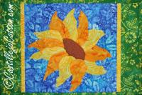 Sunflower Placemat Pattern CJC-4742