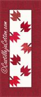 Maple Leaves Runner Pattern CJC-4756