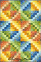 Emerging Diamonds 6 Quilt Pattern CJC-48406