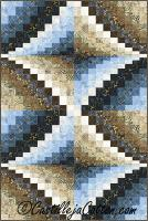 Double Diamond Quilt Pattern CJC-48414