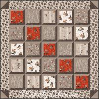 Window View Quilt Pattern CJC-48474