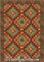 Six by Six Trip Quilt Pattern CJC-48733