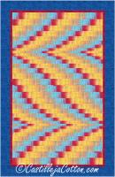 Double Darts Quilt Pattern CJC-49097