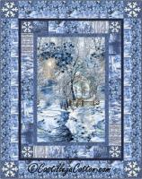 Scenic Snow Fall Quilt Pattern CJC-49101