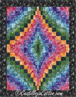Bargello Jewel Quilt Pattern CJC-49256