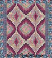 Four Diamonds Quilt Pattern CJC-49262
