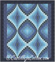 Four Diamonds Quilt Pattern CJC-49263