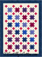 Floating Stars and Diamonds Quilt Pattern CJC-49351