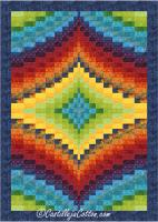 Twin Diamond Quilt Pattern CJC-49501