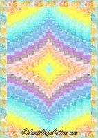 Twin Diamonds Quilt Pattern CJC-49503