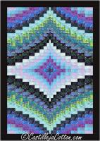 Twin Diamonds Quilt Pattern CJC-49504