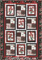 Poppies Quilt Pattern CJC-49511