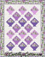 Floral Baskets Quilt Pattern CJC-49792
