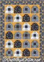 Bee Hive Quilt Pattern CJC-4983