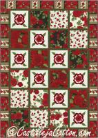 Glamour Roses Quilt Pattern CJC-4992