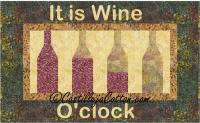 Wine O'clock Quilt Pattern CJC-4998