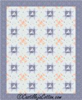 Starry Churn Dash Quilt Pattern CJC-5026