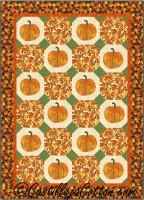 Field of Pumpkins Quilt Pattern CJC-5029