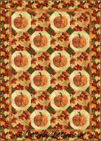 Field of Pumpkins Quilt Pattern CJC-50292