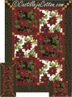 Ten Trio Quilt Pattern CJC-5031