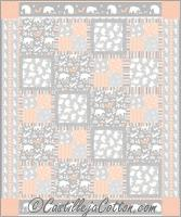 Framed Four Patch Quilt Pattern CJC-50334