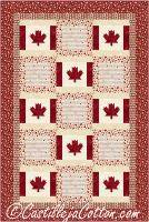 Canada is My Country Quilt Pattern CJC-50383