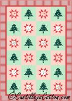 Stars and Trees Two Quilt Pattern CJC-5055