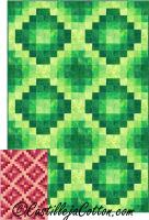 Unfolding Diamonds Lap Quilt Pattern CJC-5060