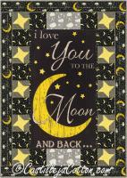 To the Moon Quilt Pattern CJC-5062
