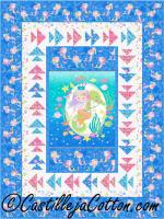 Mermaids and Fishes Quilt Pattern CJC-50691