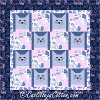 Nine Patch Cats Quilt Pattern CJC-50703