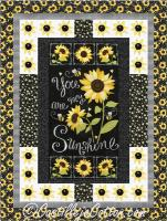 Sunshine Sunflowers Quilt Pattern CJC-5074