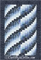 Lapping Waves Quilt Pattern CJC-50871