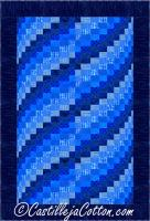 Lapping Waves Quilt Pattern CJC-50872