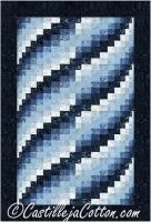 Lapping Waves Quilt Pattern CJC-50874