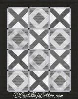 X's and O's Quilt Pattern CJC-5088