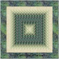 Radiant Eight Quilt Pattern CJC-5091