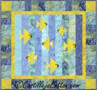 Fish Milling About Quilt Pattern CJC-5098